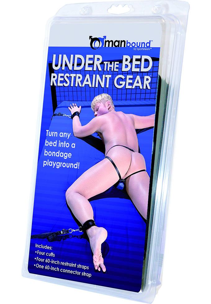 Manbound Under the Bed Restraint Gear - Fesselgurte