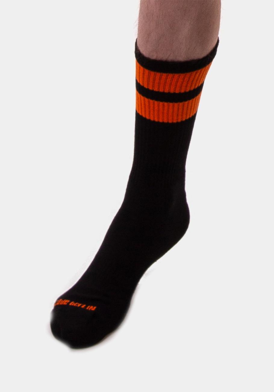 Barcode Berlin Gym Socks | Black/Orange