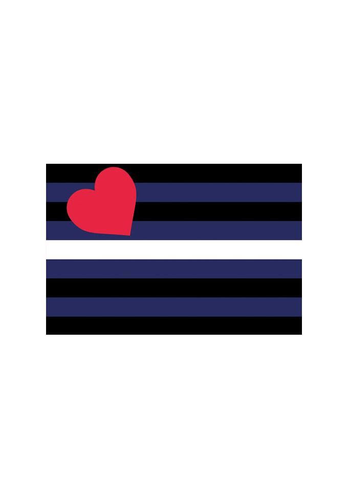 Flagge Lederstolz 60 x 90 cm