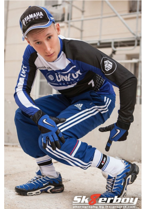442191 Sk8erboy: royal blue Deluxe Socks 39-42