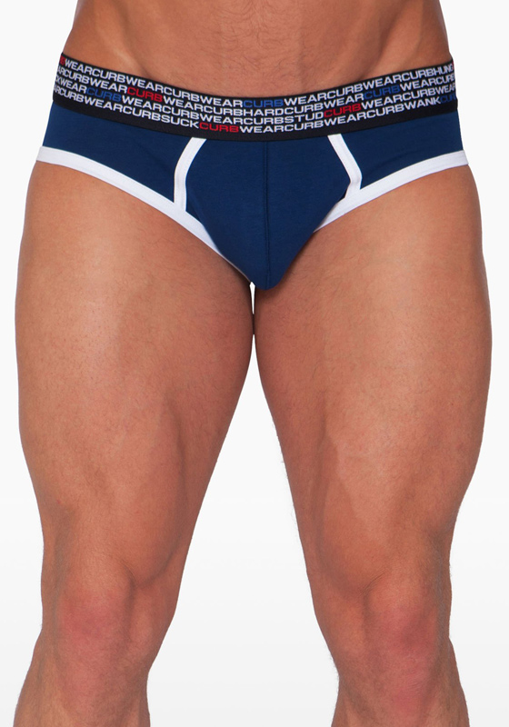 CURB BB01415 navy L Brief Blimey