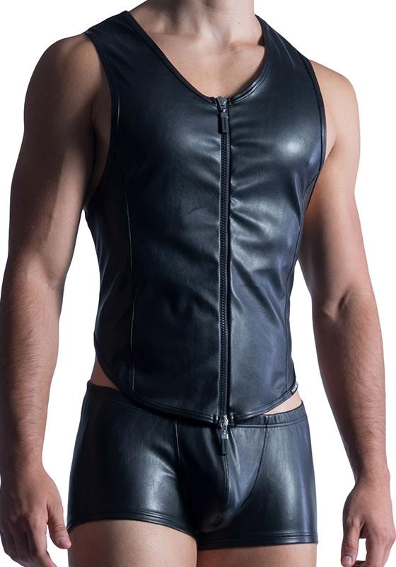 MS M854 black L Zipped Vest