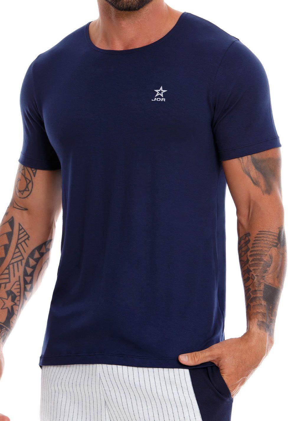 JOR T-Shirt Cross | Blue