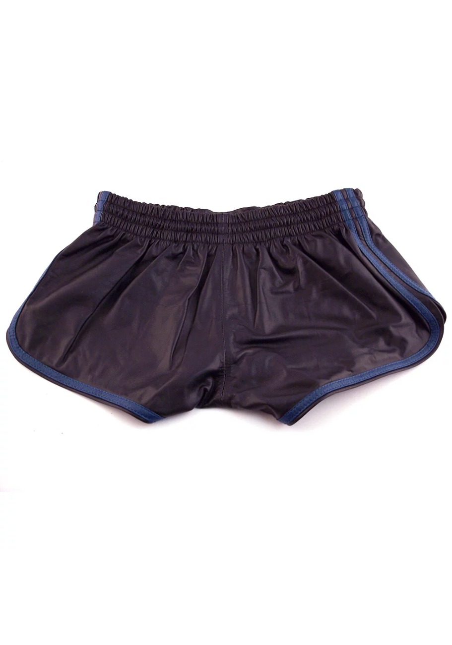Rouge Leder Shorts Black/ Blue
