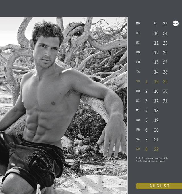 Männer Postkartenkalender 2021 (16 x 17 cm)