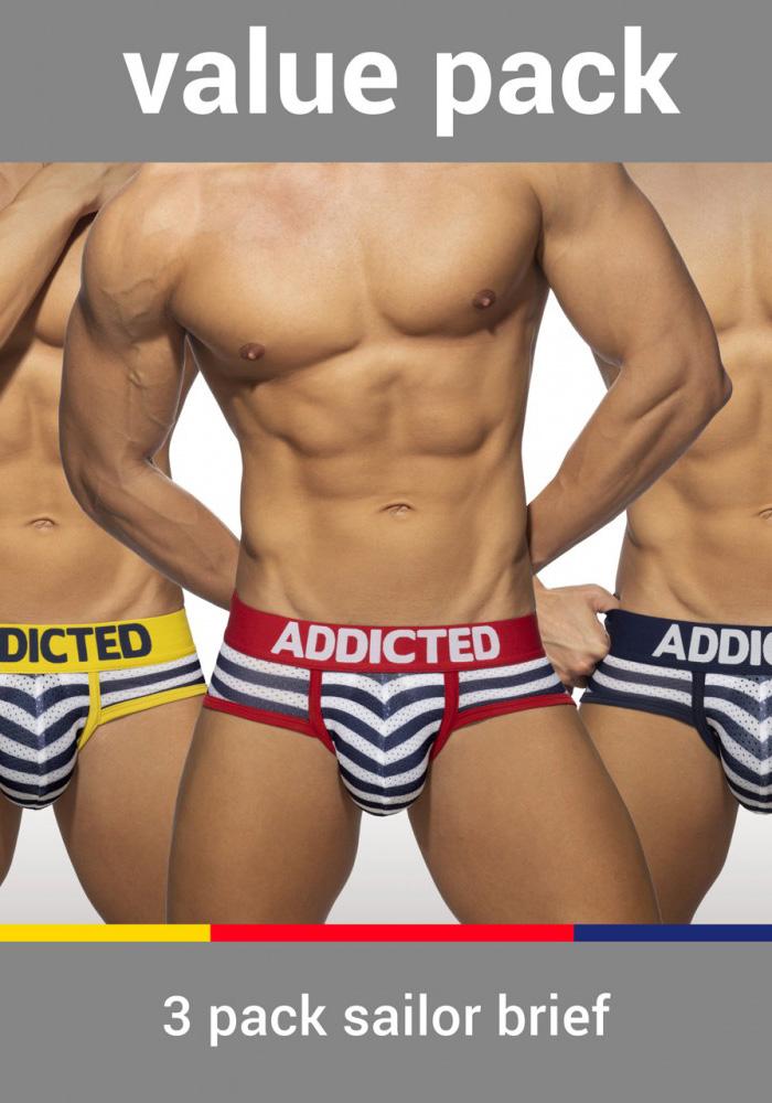 Addicted Sailor Brief 3-Pack