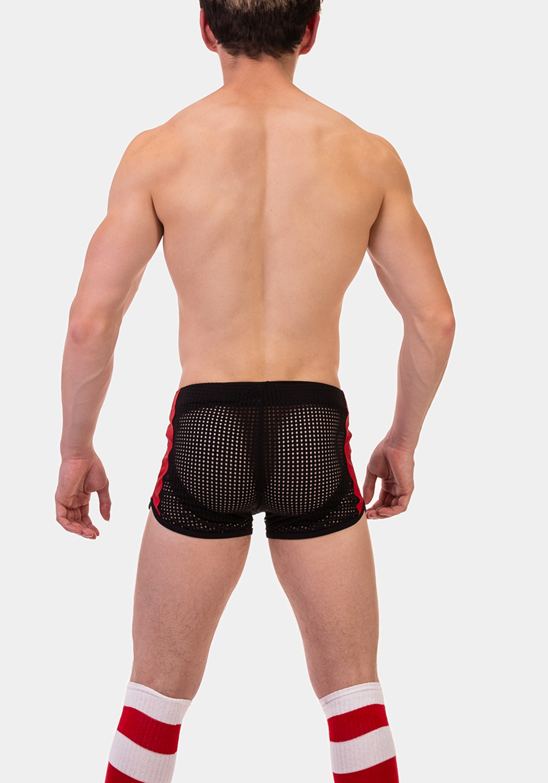 Barcode Berlin Short Eryx | Black|Red