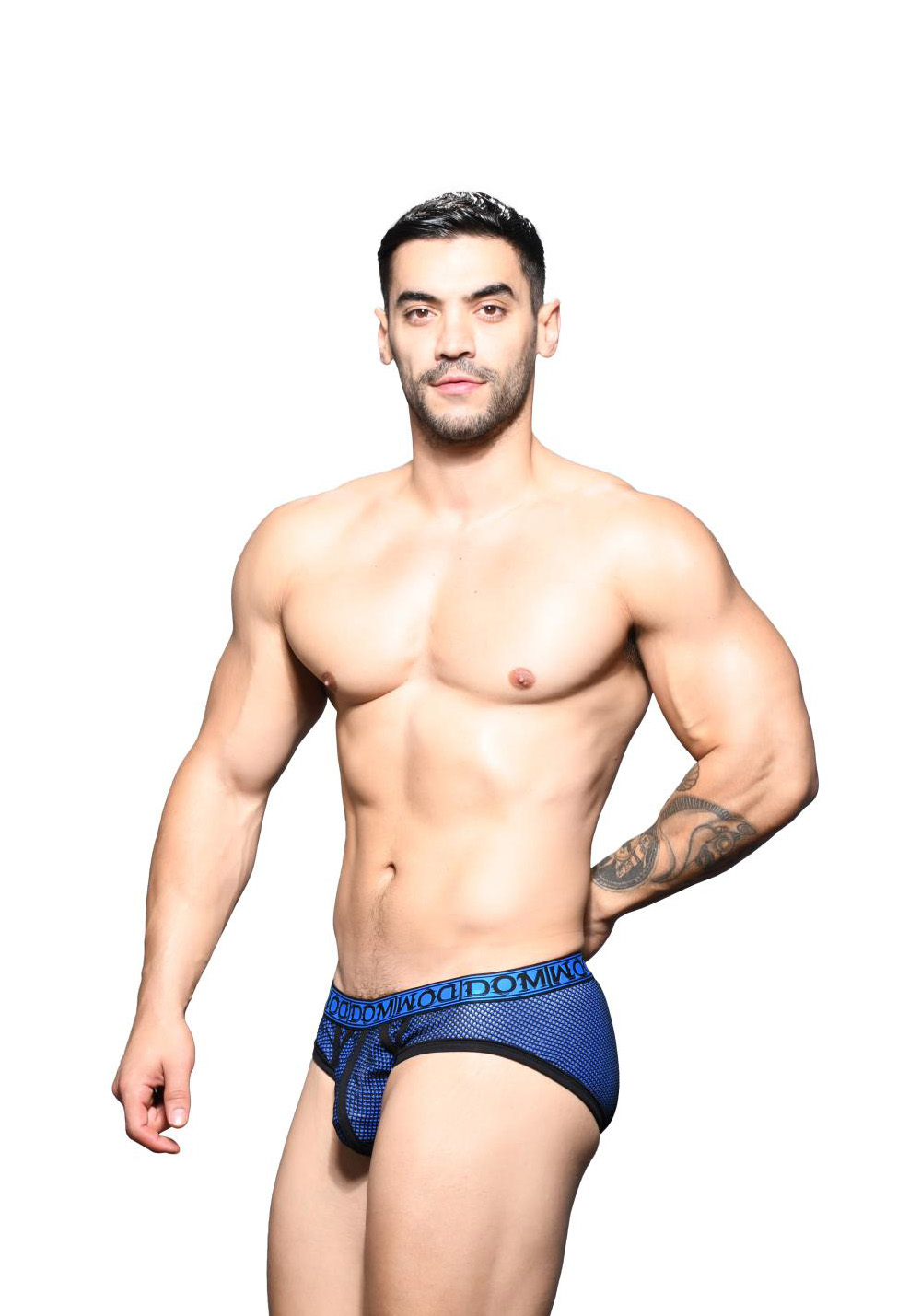 Andrew Christian Dom Double-Mesh Brief