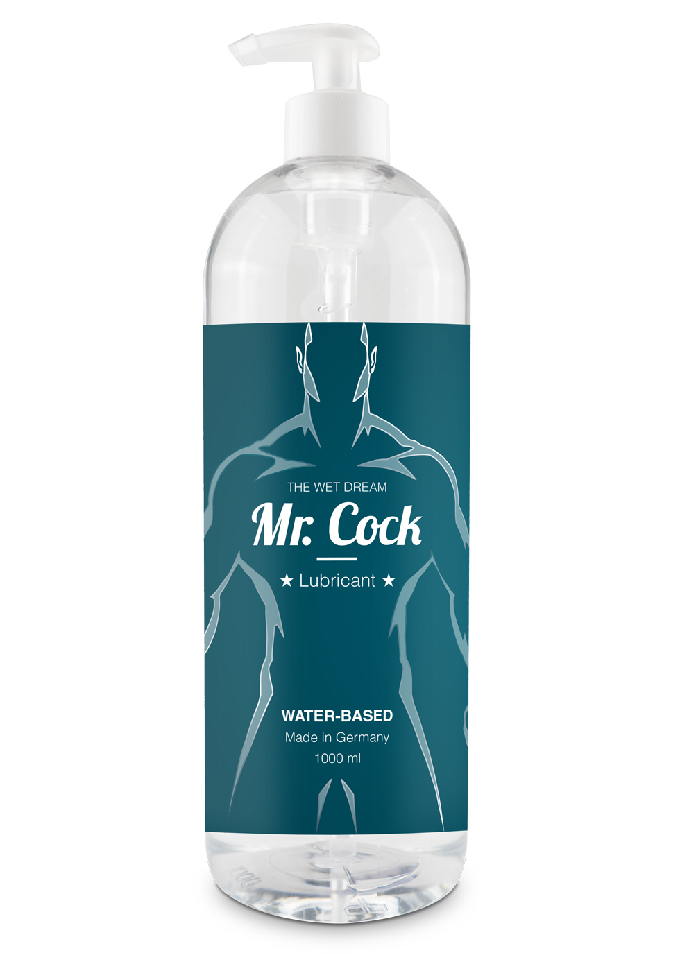 Mr. Cock Lube The Wet Dream 1000 ml (Water)