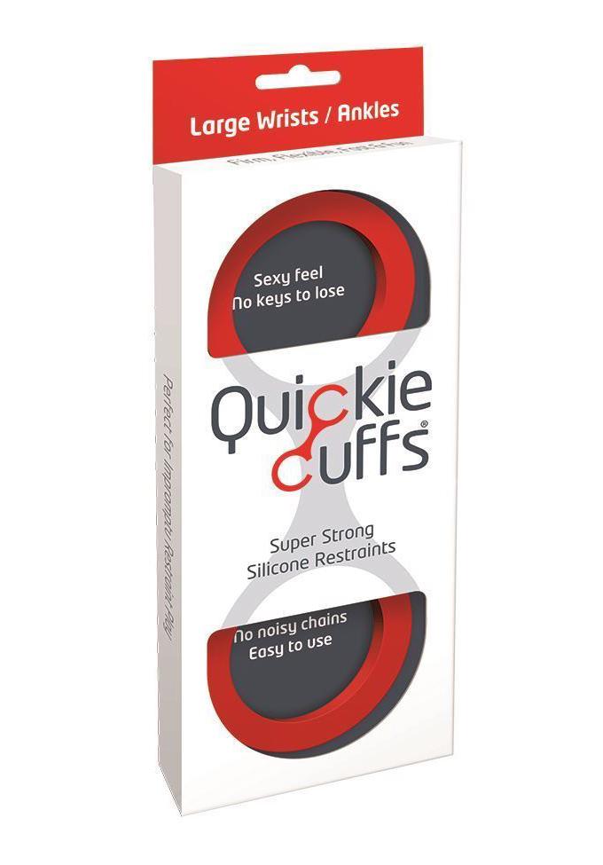 Quickie Cuffs Red - Handschellen