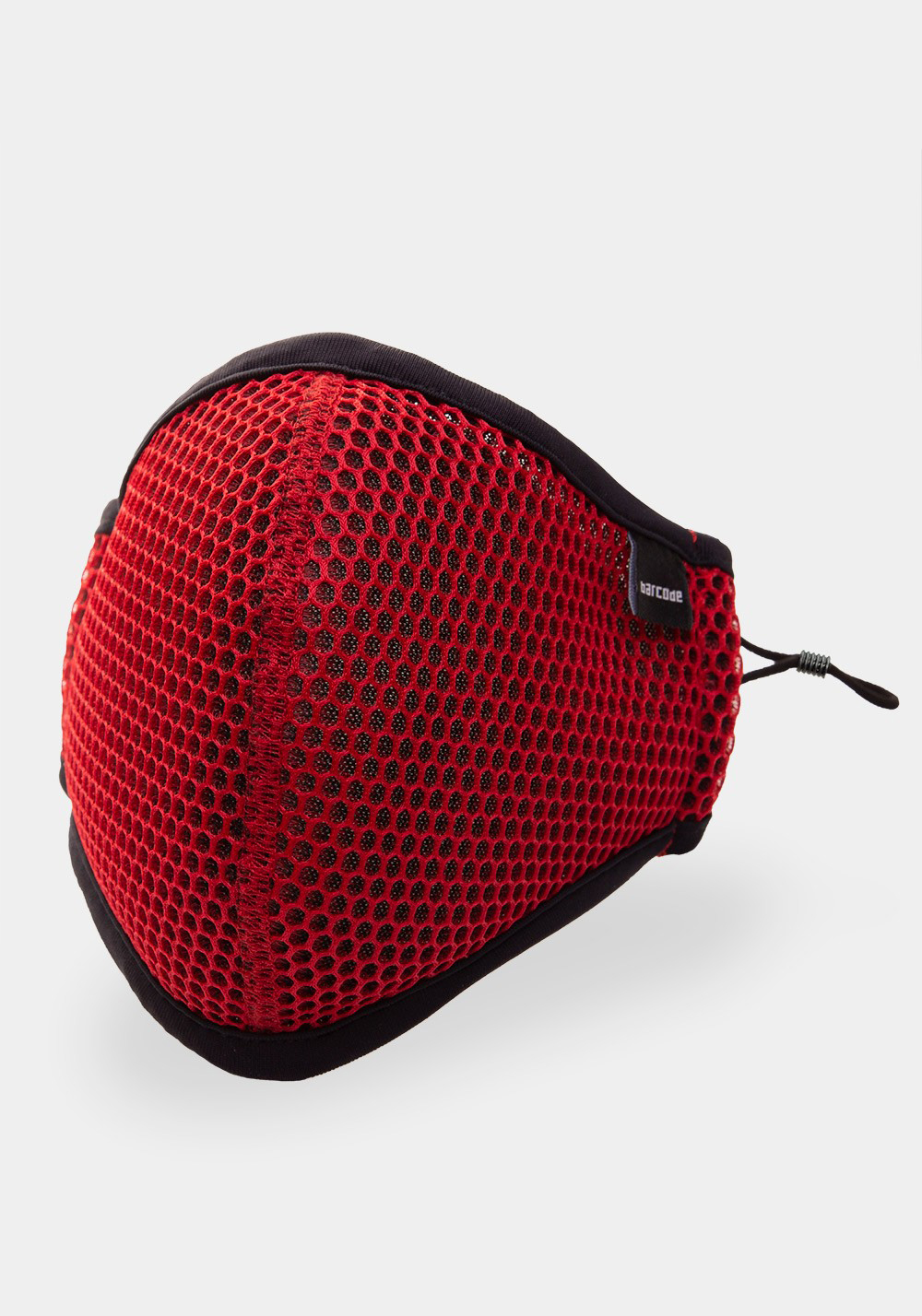 Barcode Berlin Mask General Wyatt | Red/Black