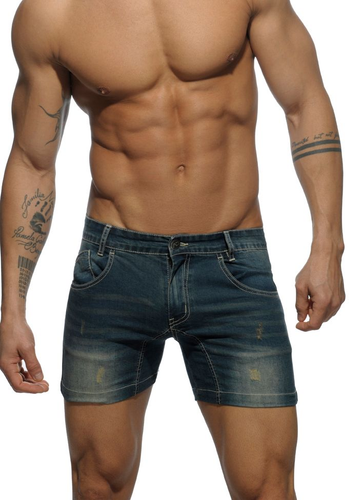 AD 530 navy 34 Short Jeans