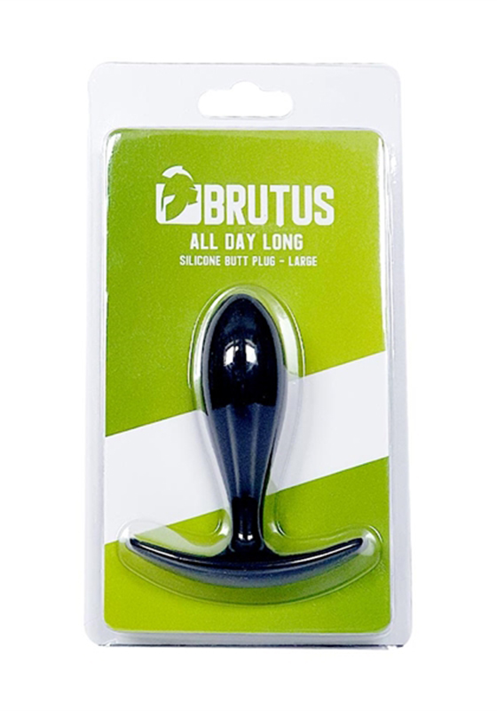 Brutus: All Day Long Silicone Butt Plug - L 95 mm