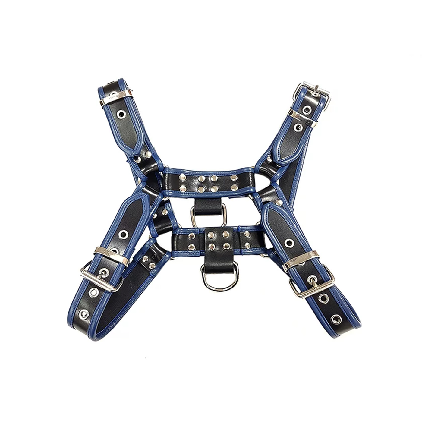O.T H-Front Harness black/blue XL