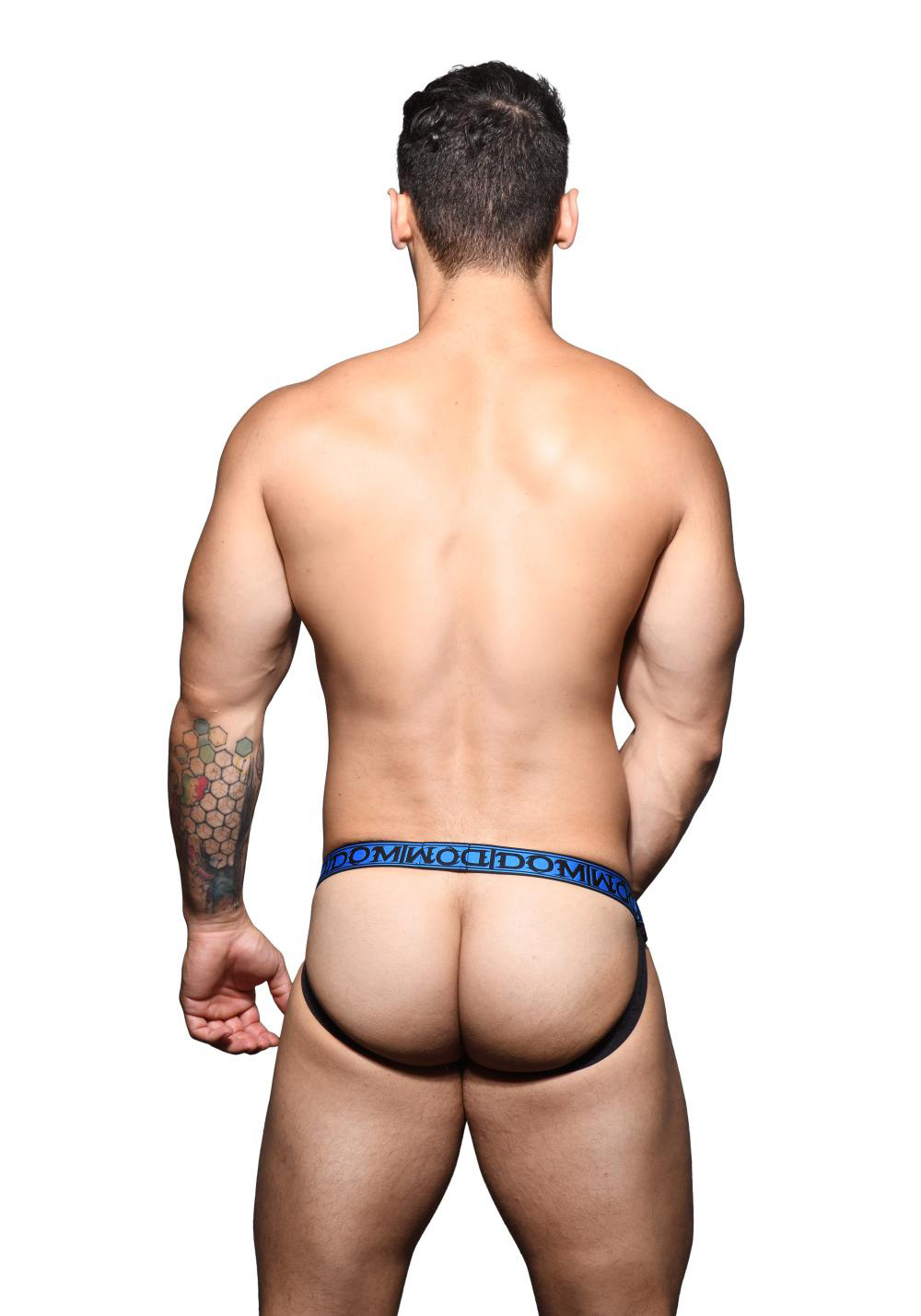 Andrew Christian Dom Double-Mesh Ring Jock