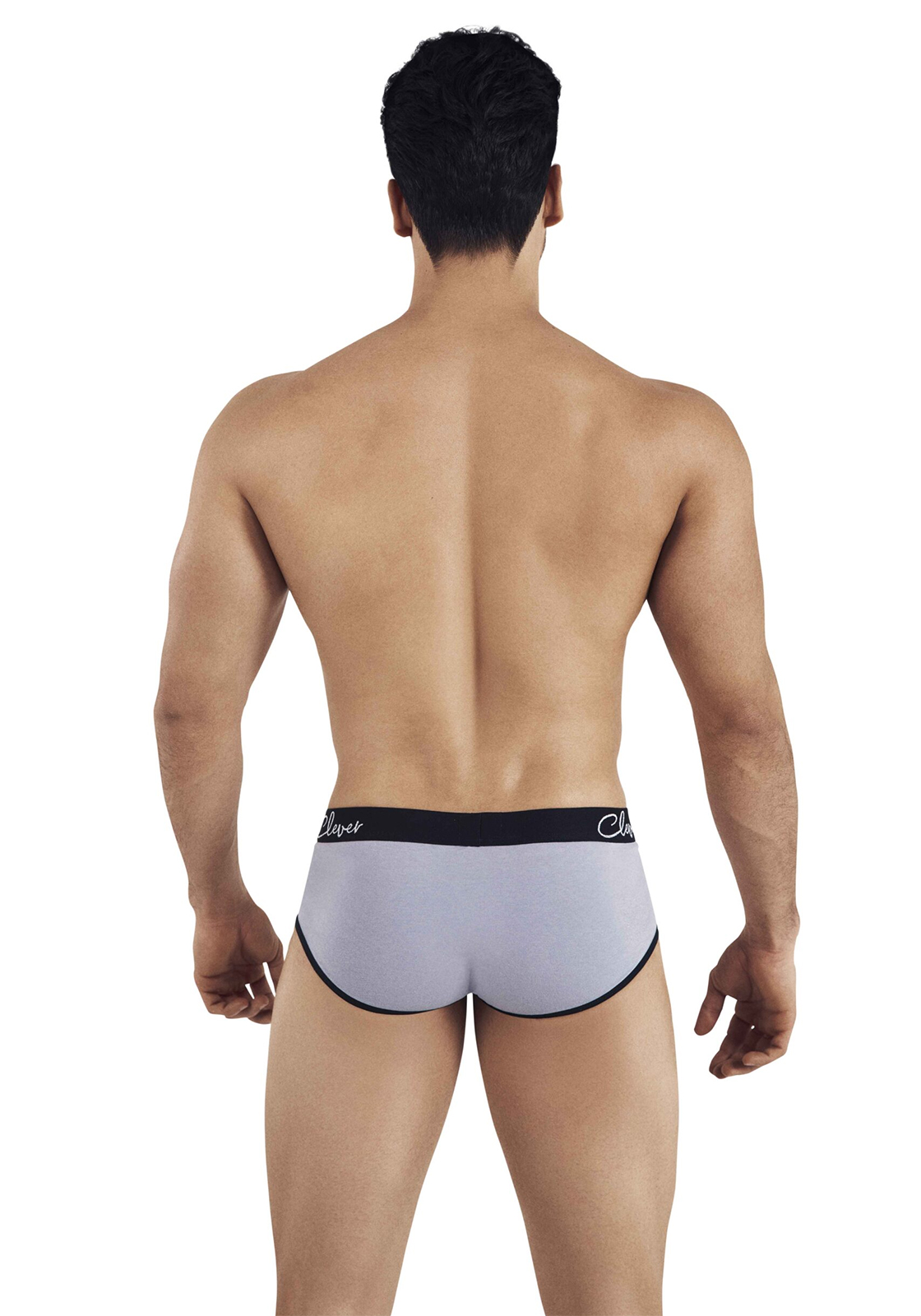 Clever Lowa Piping Brief | Grey