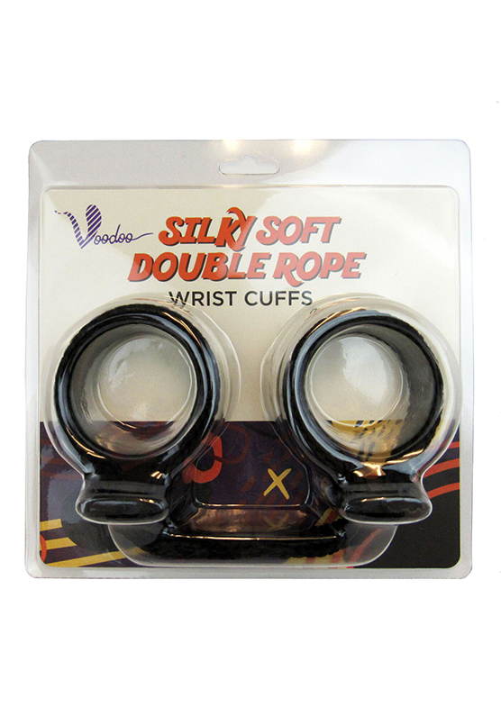Voodoo Silky Soft Double Rope Wrist Cuffs