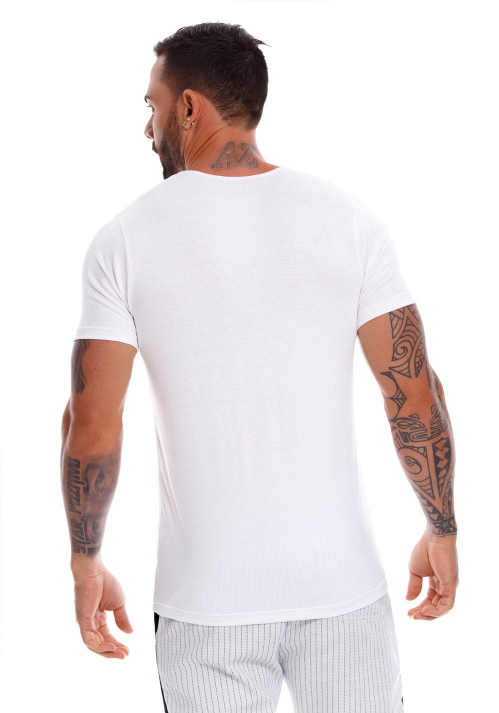 JOR T-Shirt Cross   White