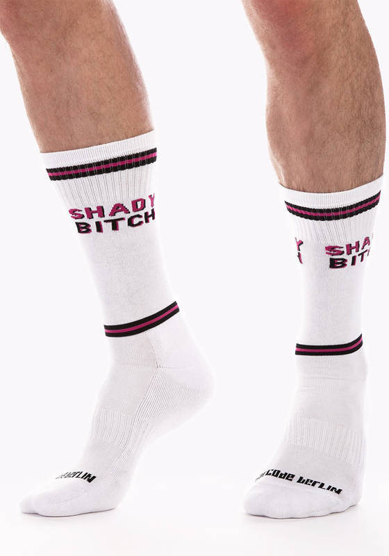 Barcode Berlin 91624 Gym Socks Shady Bitch