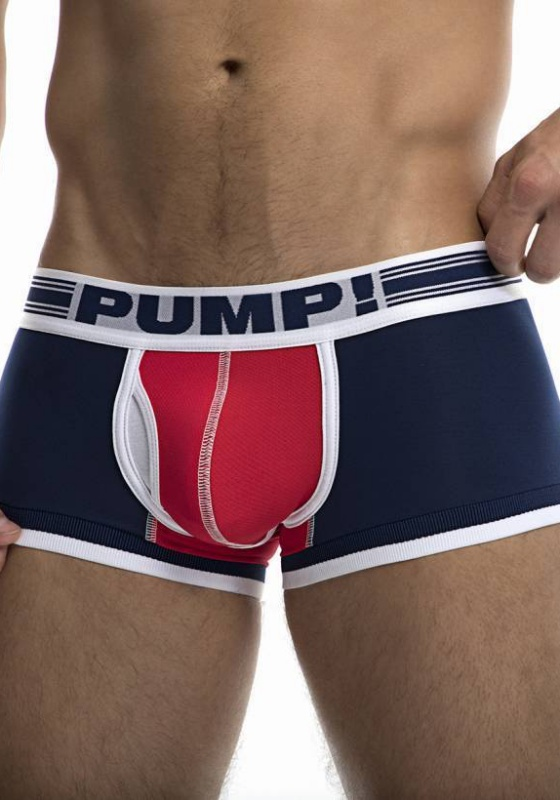 PUMP 11077 nvy/red/wht Touchdown Academy Boxer