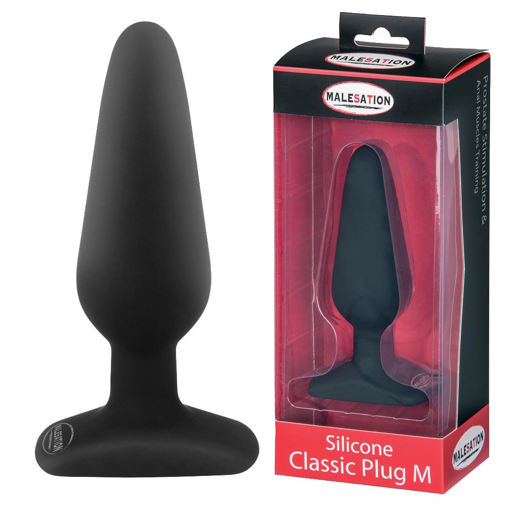 Malesation: Silicone Classic Plug M