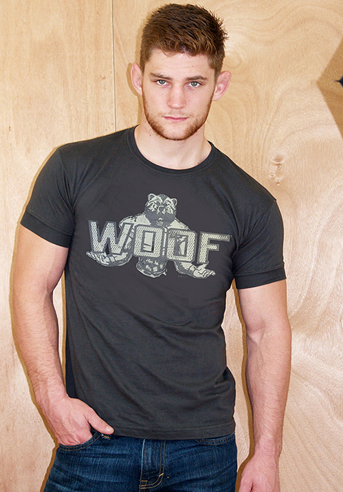Ajaxx63 AS89 Woof Bear Shirt