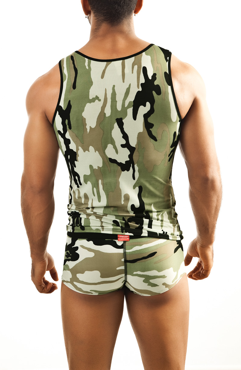 Joe Snyder Camo Sheer Tank
