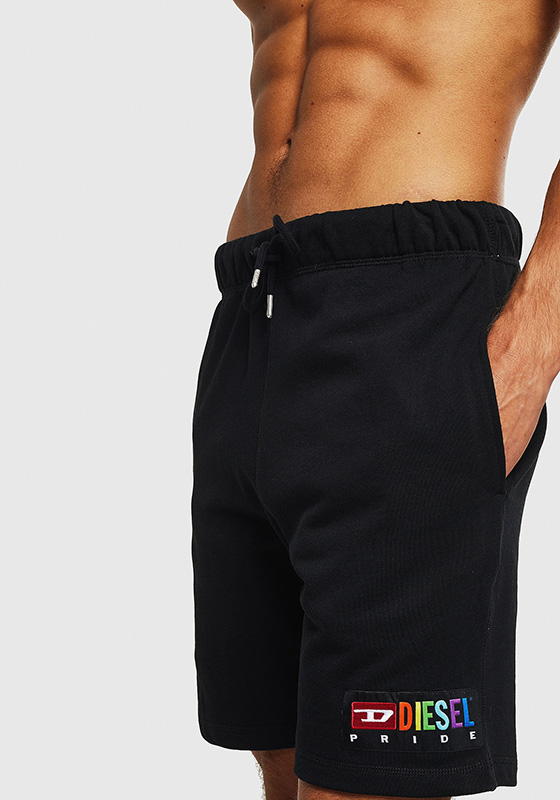 DIESEL UMLB-PAN Pride Shorts