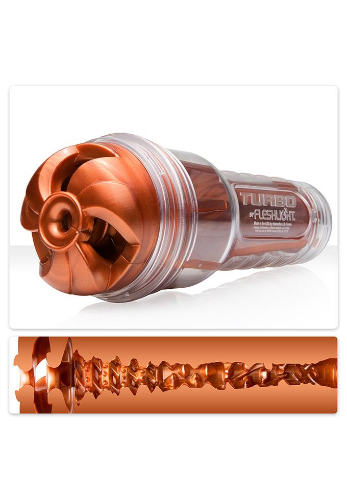 Fleshlight: Turbo Thrust Copper - Masturbator