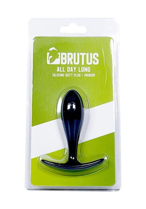 Brutus: All Day Long Silicone Butt Plug - M 90 mm