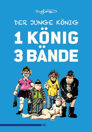 Ralf König | Der junge König - 1 König 3 Bände