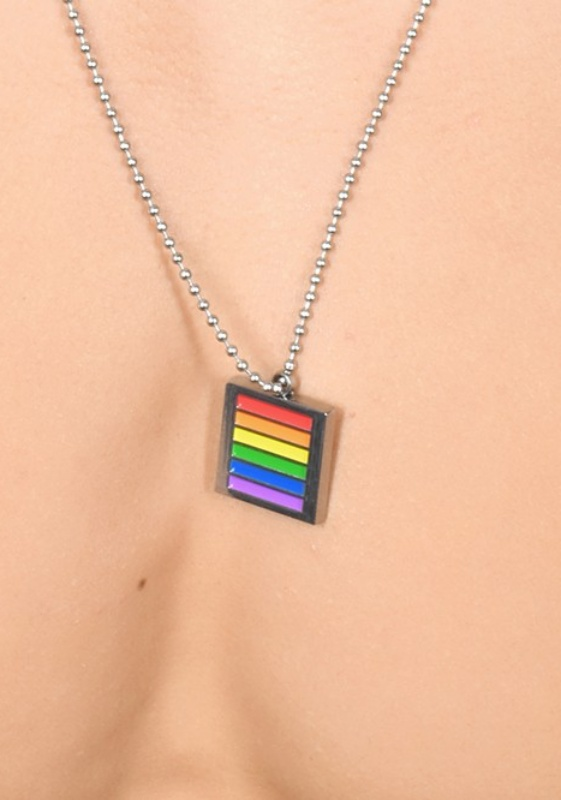 Andrew Christian Pride Necklace - Kette mit Anhänger
