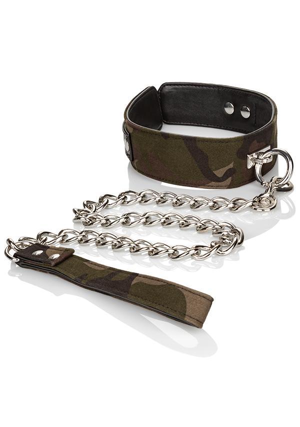 COLT: Camo Collar & Leash - Halsband & Leine