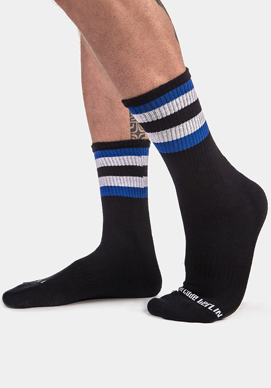 Barcode Berlin 91720 Half Fetish Socks Stripes