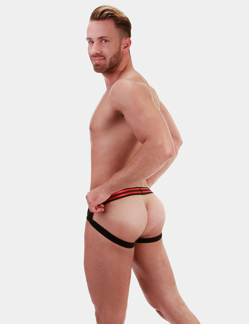 Barcode Berlin Jock Gav | Black|Red