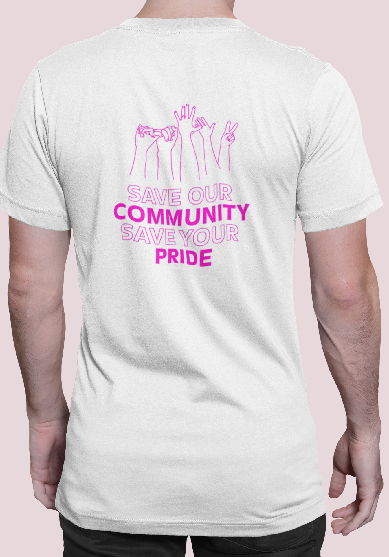 """CSD T-Shirt """"Save your Pride"""""""