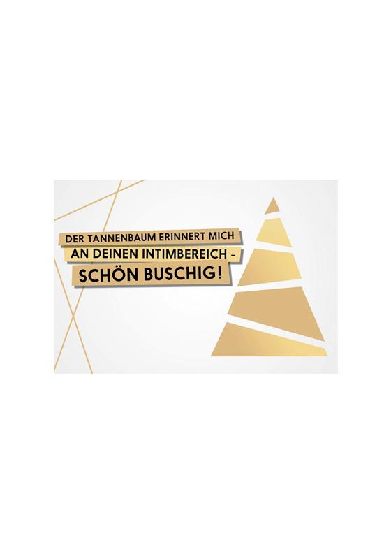 FckYouCards: Tannenbaum...Schön Buschig!