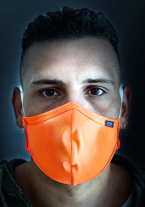 EROS VENEZIANI Gesichtsmaske Neon Orange