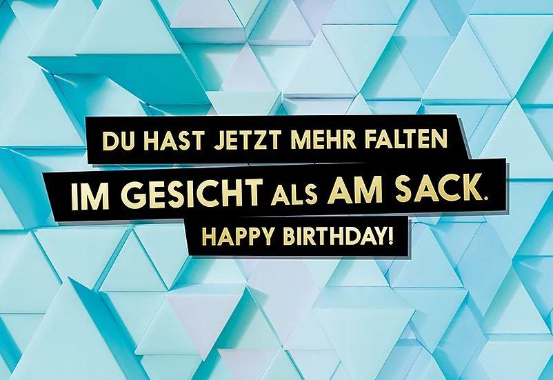 FckYouCards: Mehr Falten im… . Happy Birthday!