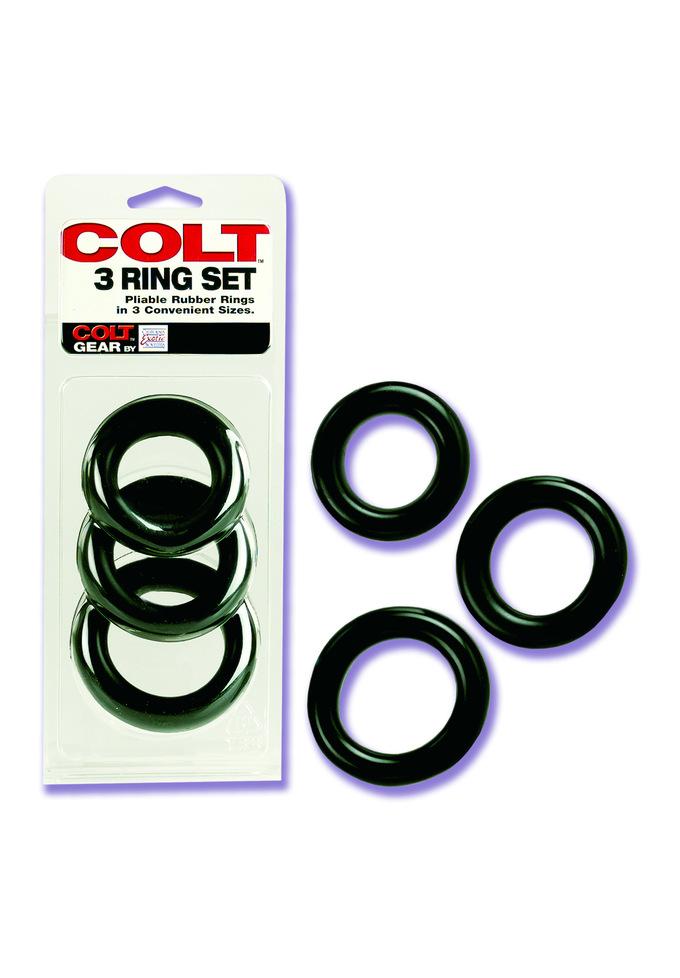 COLT 3 Ring Set - Cockring
