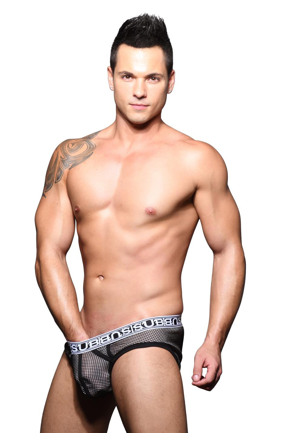 Andrew Christian Sub Double Mesh-Brief