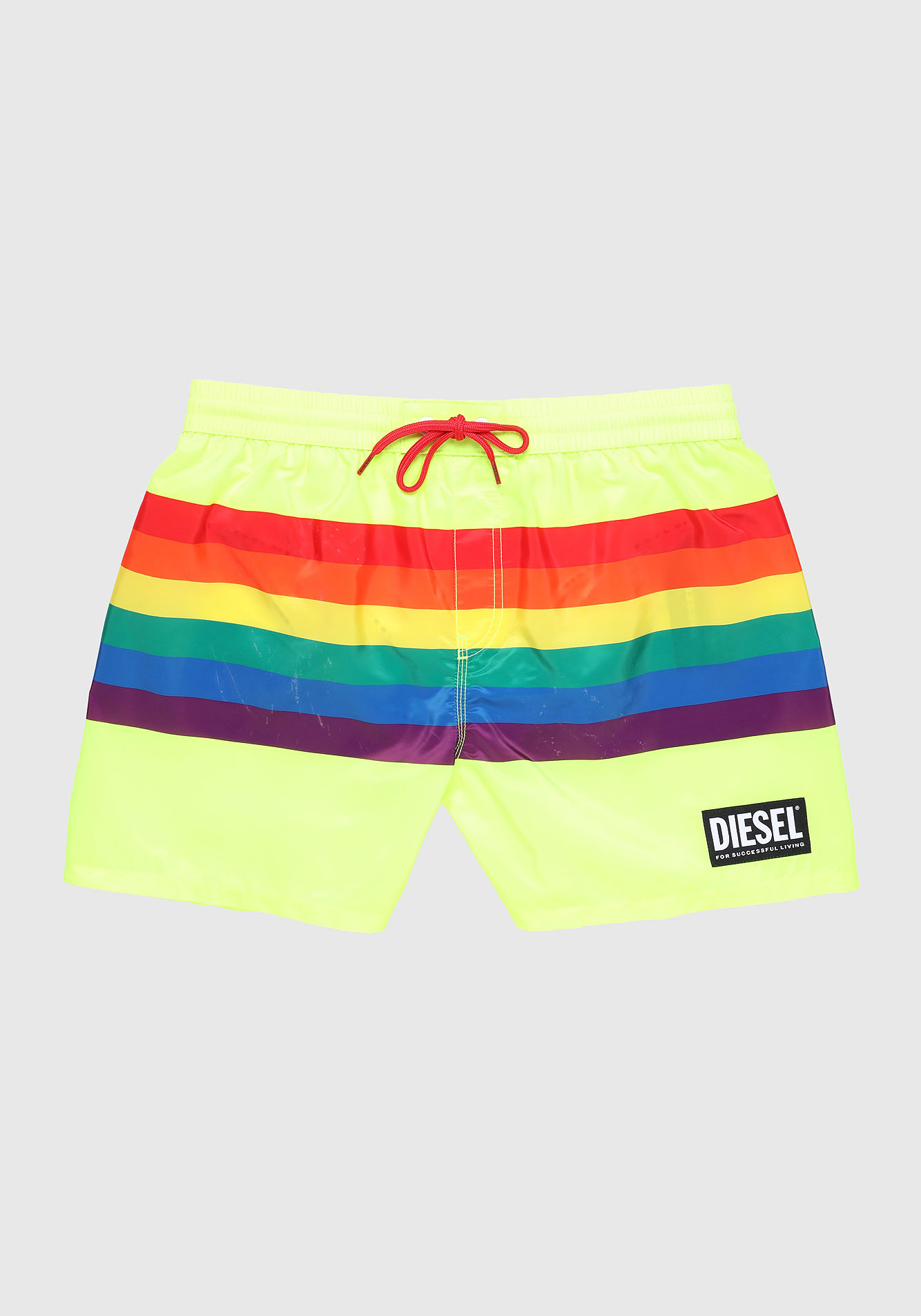 Diesel Pride Swim Shorts Rainbow