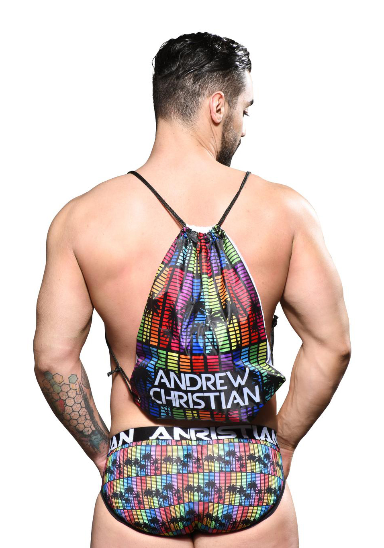 Andrew Christian Digital Paradise Pride Backpack