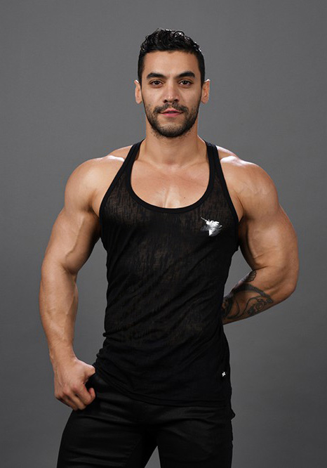Andrew Christian Glam Burnout Unicorn Tank