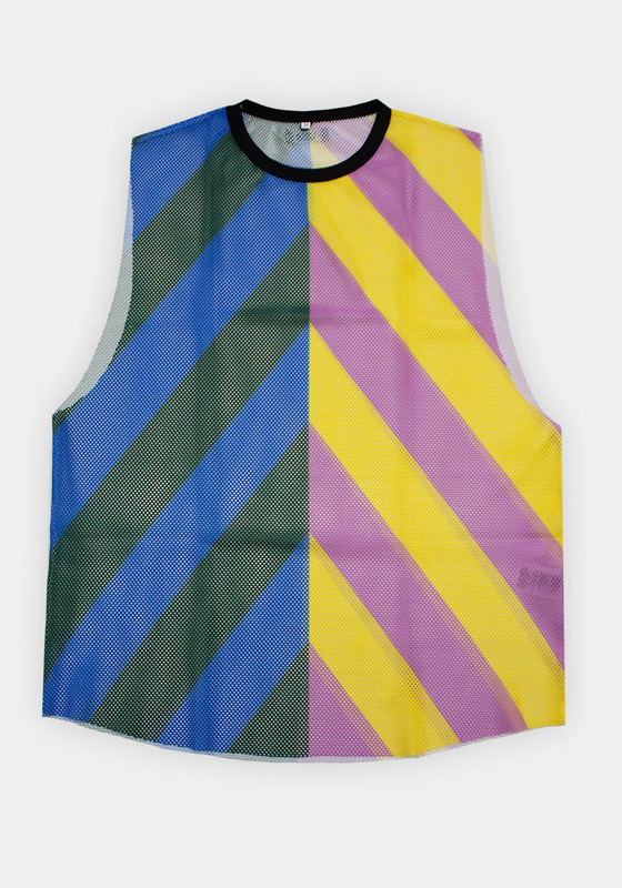 Barcode Berlin 91648 Tank Top Stripped Sunny