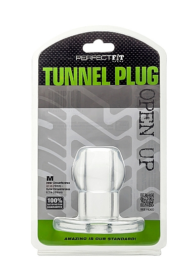 Perfect Fit Tunnel Plug M (clear)