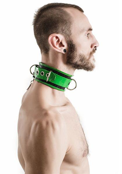 Mr. B: Rubber Collar Lockable Halsband