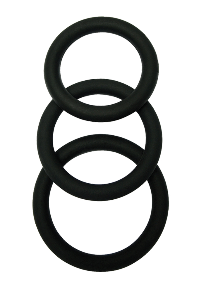Malesation Silicone Cock Ring Set