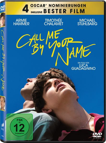 Call Me By Your Name (DVD)