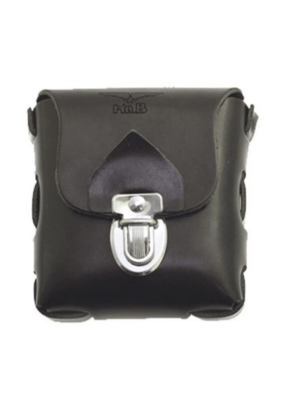 Mr. B: Gürteltasche Leder (black)